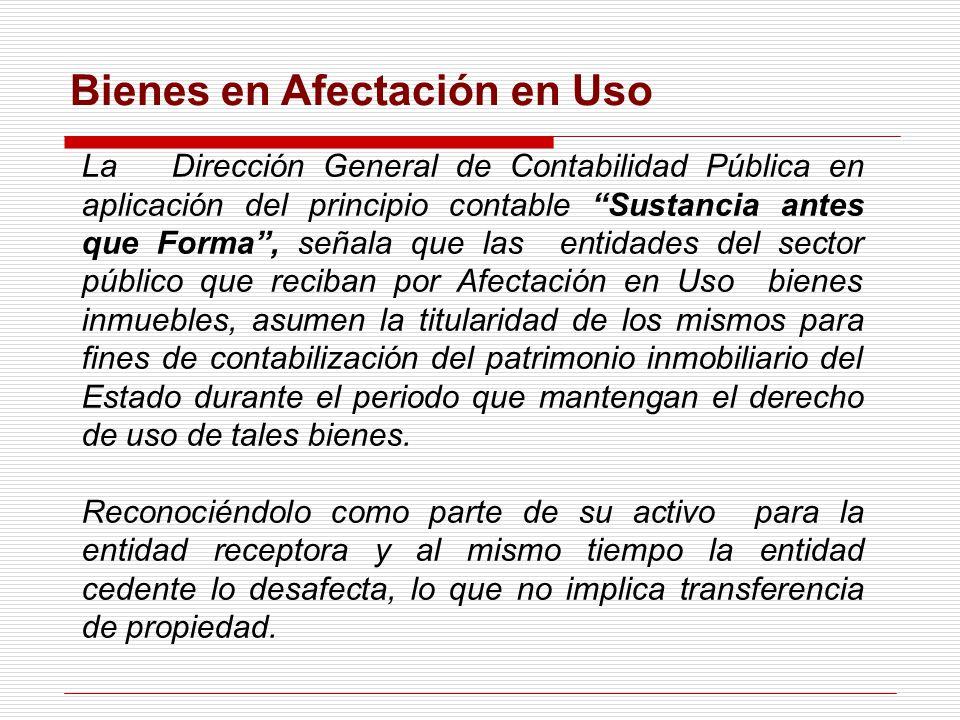 Caso Práctico La entidad XXX recibió de la SBN Un inmueble en Afectación en Uso A Título Gratuito Para destinarlo al uso institucional mediante Resolución