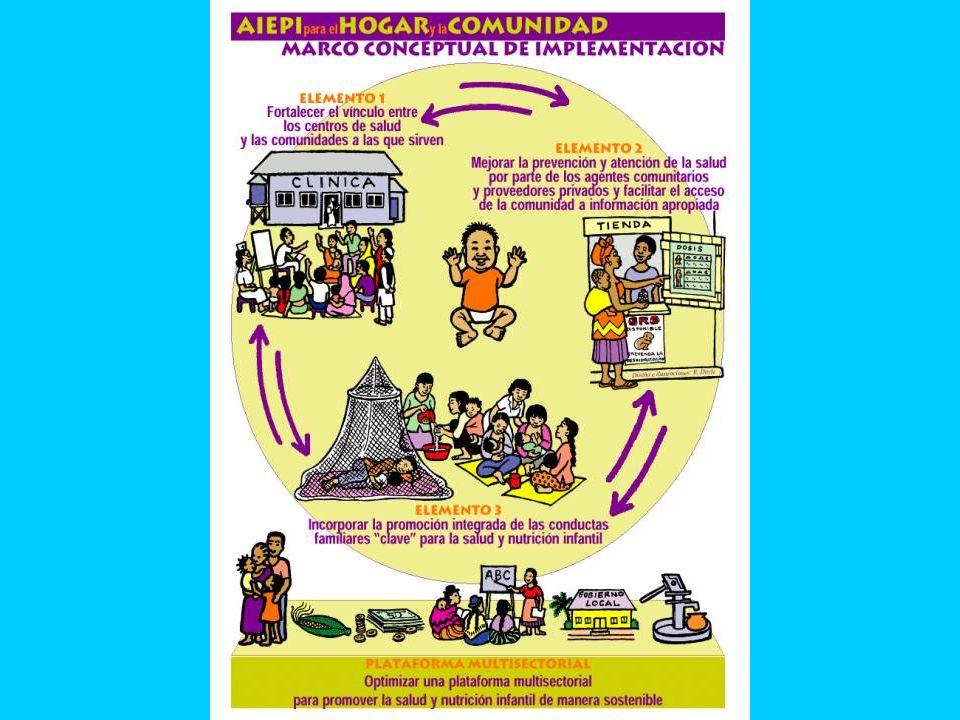 Elemento # 1 : Sociedadentre los establecimientos (y sus servicios ) de salud y las comunidades que atiende, Elemento # 2 : Atención e información apropiada y accesible por parte de los proveedores de salud en la comunidad.