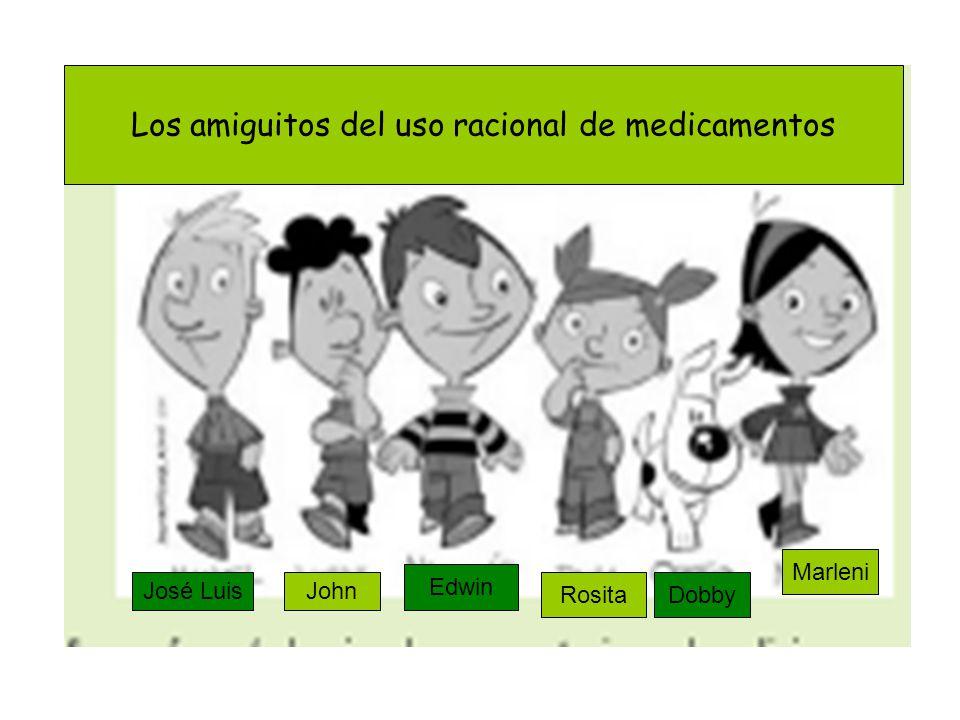 José LuisJohn Edwin RositaDobby Marleni Los amiguitos del uso racional de medicamentos