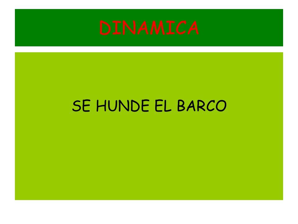 DINAMICA SE HUNDE EL BARCO