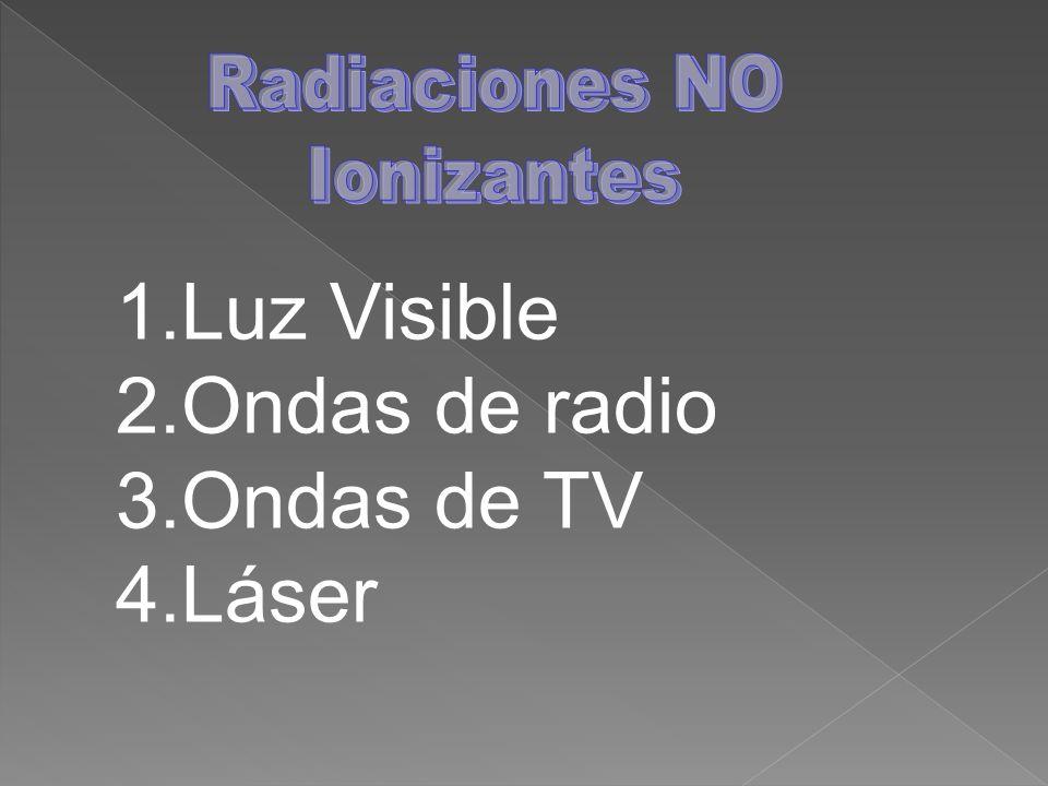 Energía de Radiofrecuencia (RF) Terminología: Energía electromagnética Radiación Campo electromagnético Intensidad de campo Energía de RF: Ondas electromagnéticas de frecuencias inferiores a 300 GHz