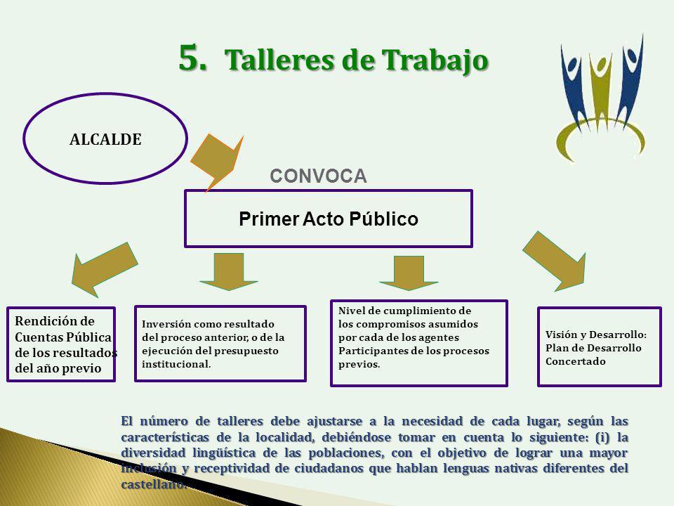 ALCALDE Primer Acto Público CONVOCA 5.