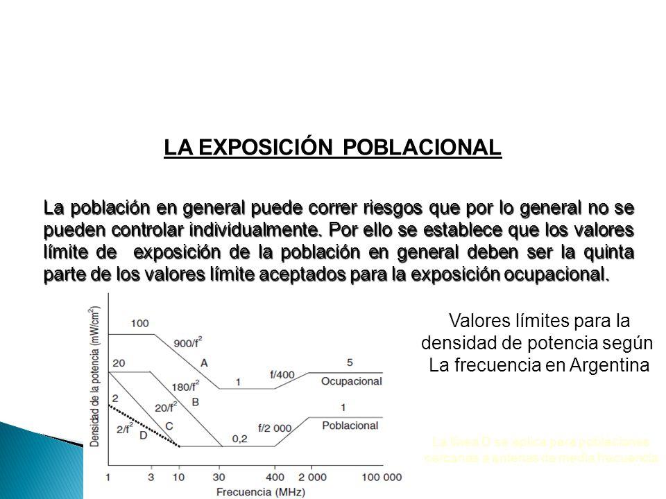 LA EXPOSICIÓN POBLACIONAL La población en general puede correr riesgos que por lo general no se pueden controlar individualmente. Por ello se establec