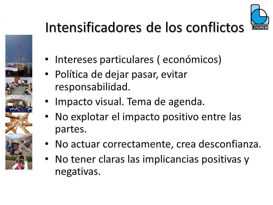 Intereses particulares ( económicos) Política de dejar pasar, evitar responsabilidad. Impacto visual. Tema de agenda. No explotar el impacto positivo