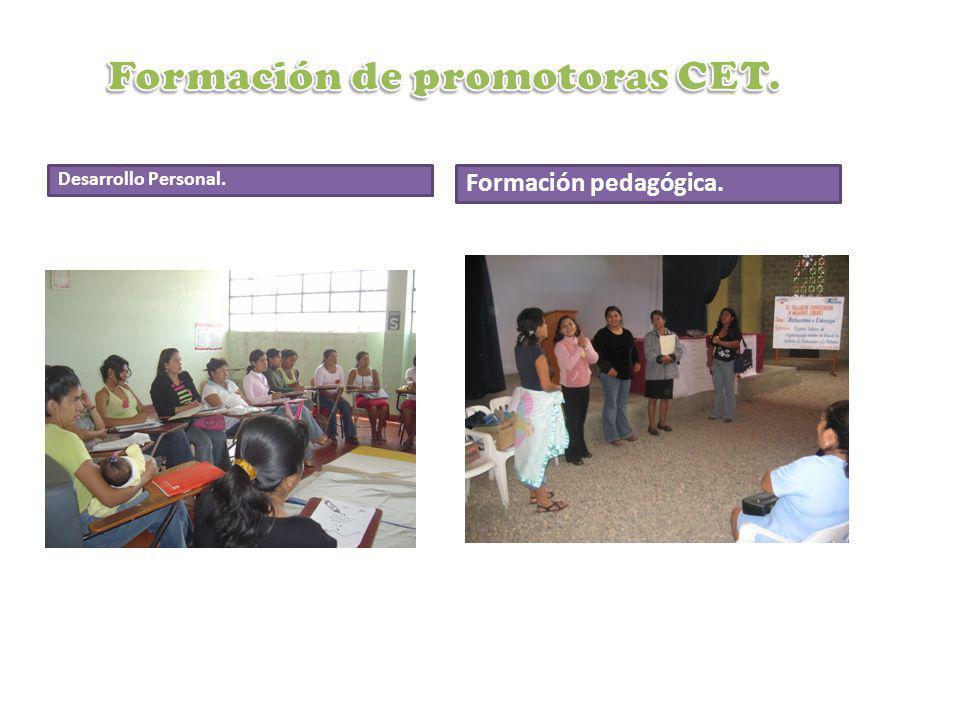 Desarrollo Personal. Formación pedagógica.