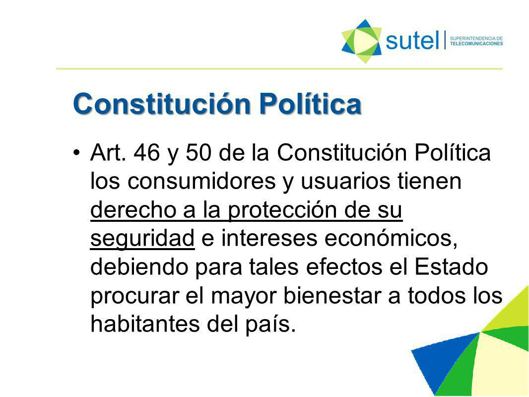 Constitución Política Art.