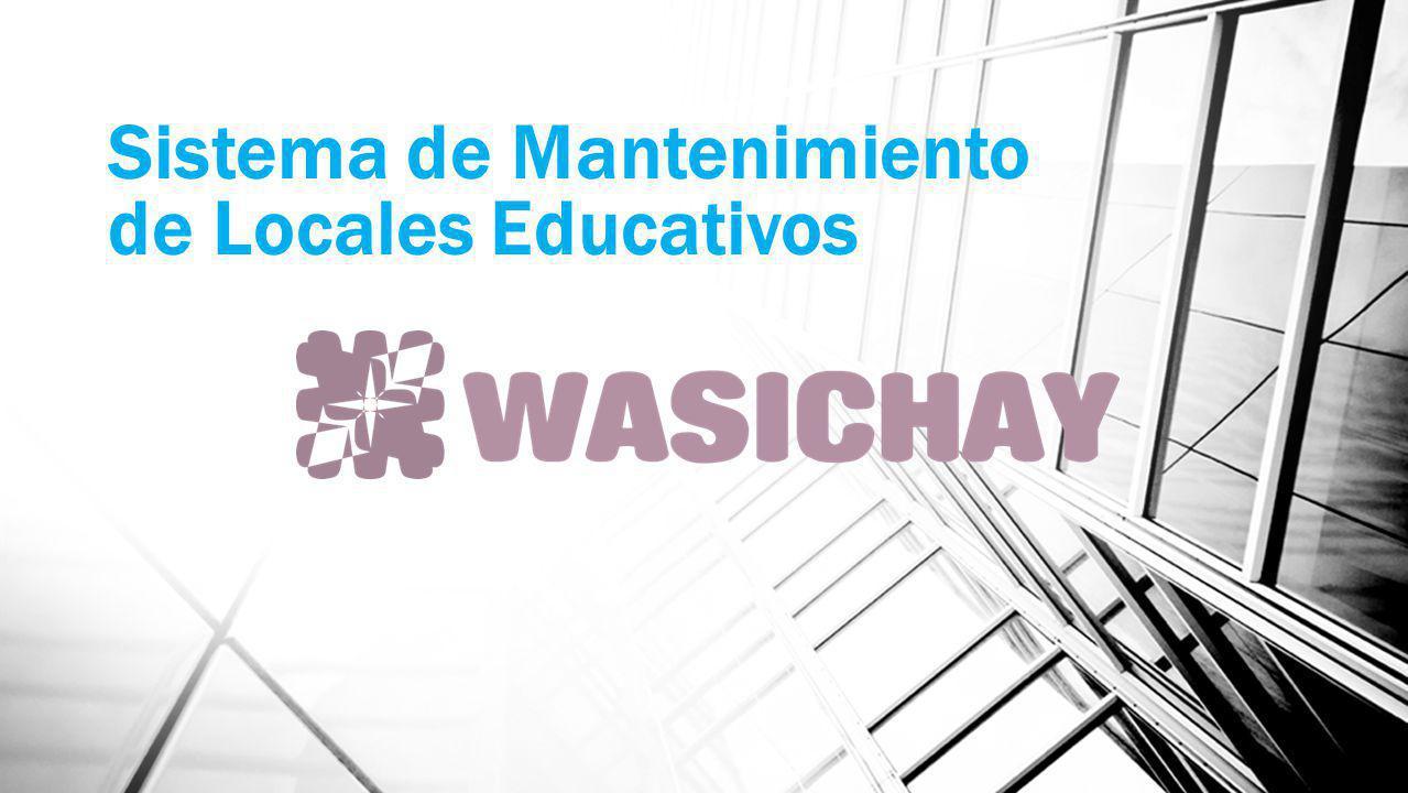 Sistema de Mantenimiento de Locales Educativos