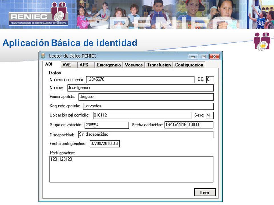 Aplicación Básica de identidad 15