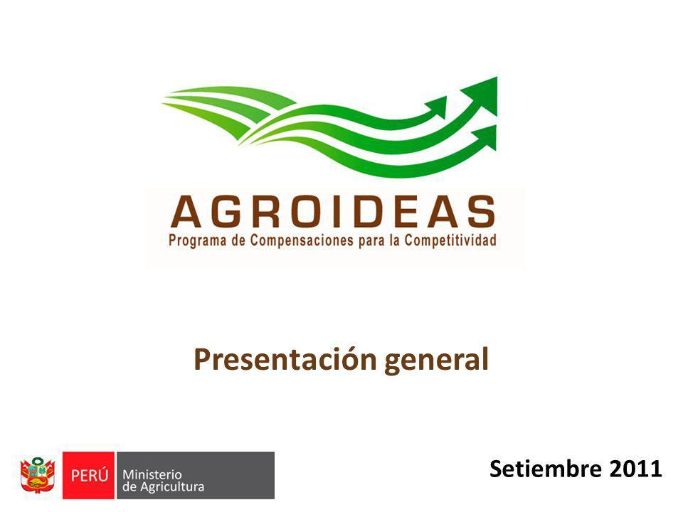 Setiembre 2011 Presentación general