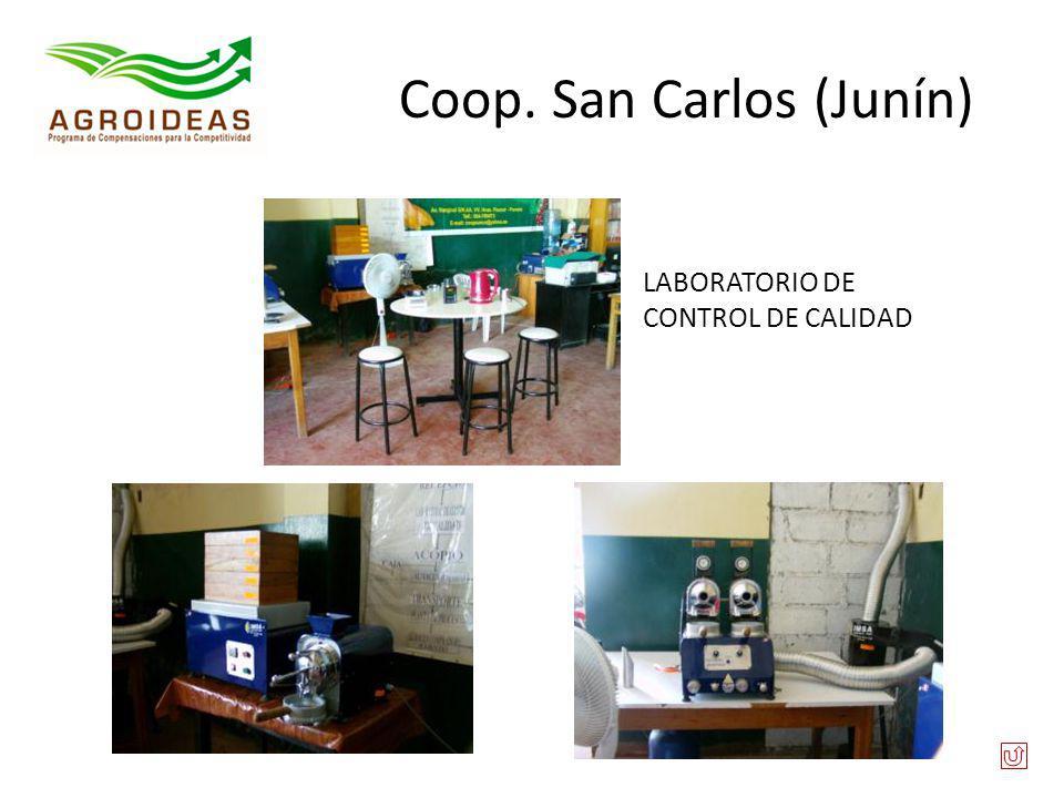 Coop. San Carlos (Junín) LABORATORIO DE CONTROL DE CALIDAD