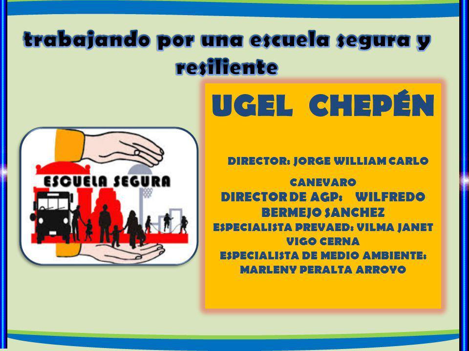 L anzamiento de PREVAED, en conjunto con las principales autoridades de la provincia de Chepén ALIANZAS ESTRATÉGICAS
