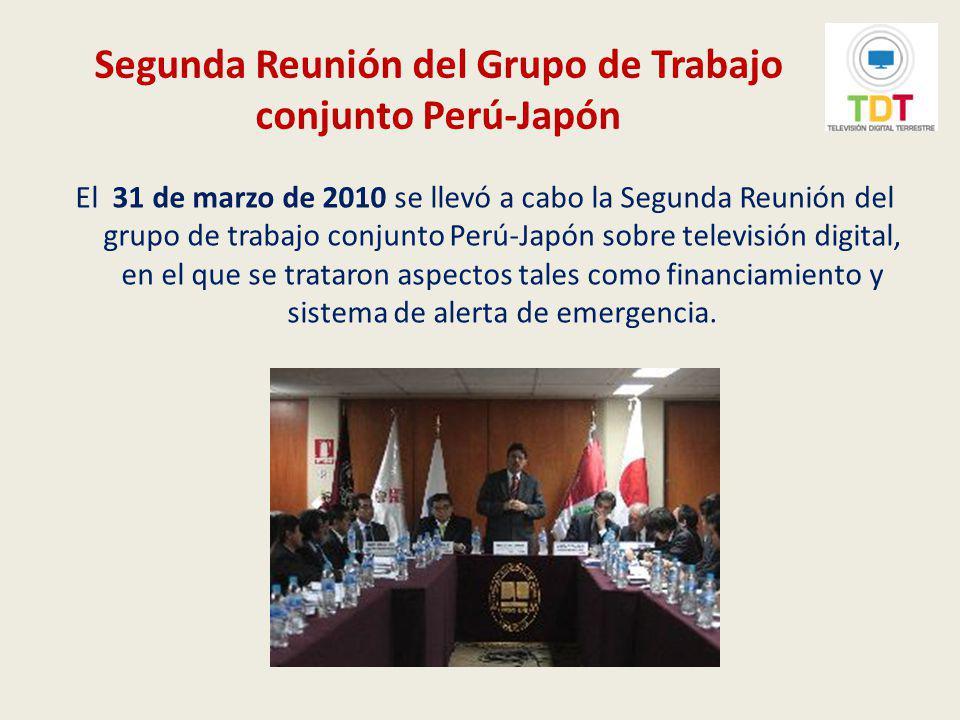 Plan Maestro para la Implementación de la Televisión Digital Terrestre en el Perú