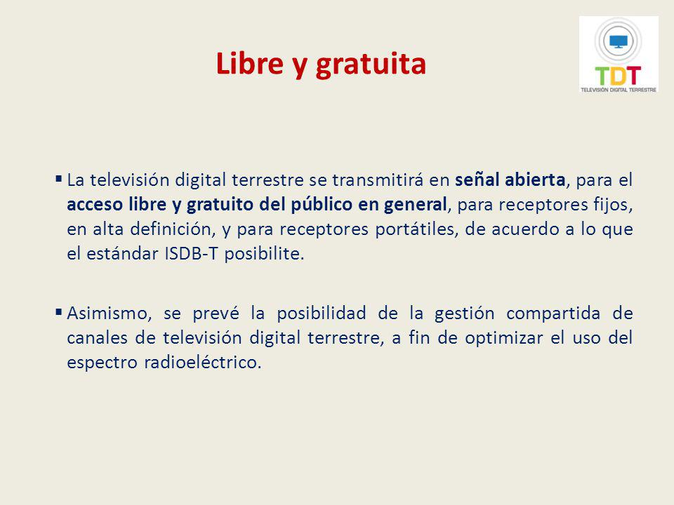 Transición analógico-digital La transición analógico-digital implica el cambio en la prestación del servicio de radiodifusión por televisión pasando de tecnología analógica a tecnología digital.