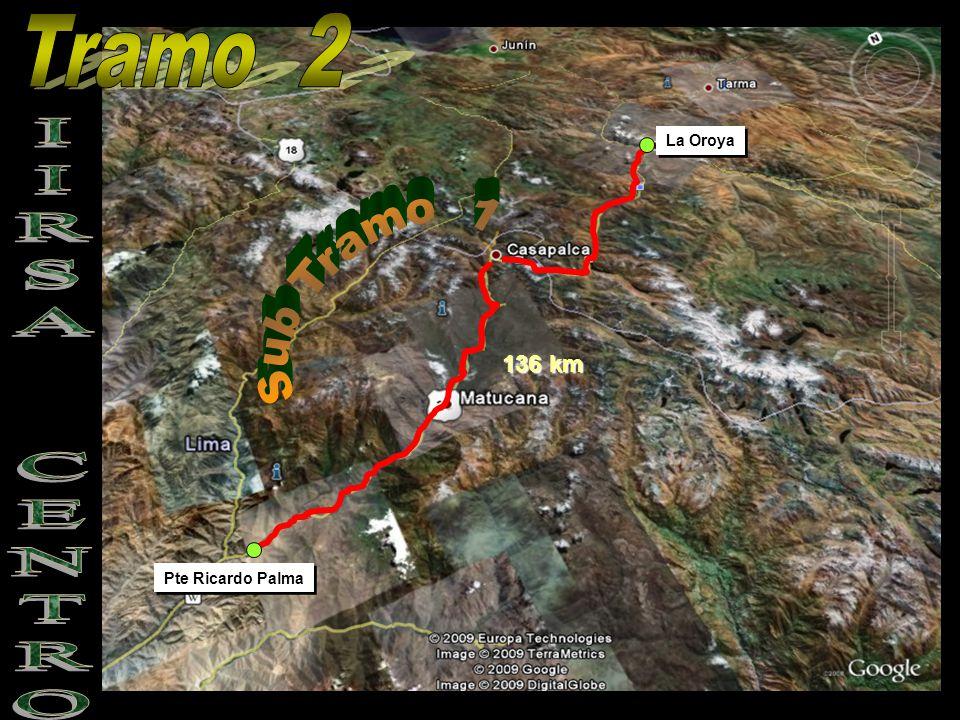 Pte Ricardo Palma La Oroya 136 km