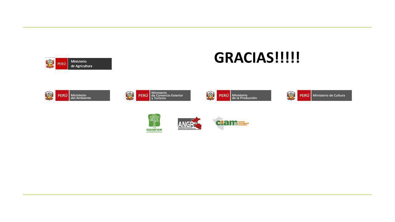 Ministerio de Agricultura PERÚ GRACIAS!!!!!