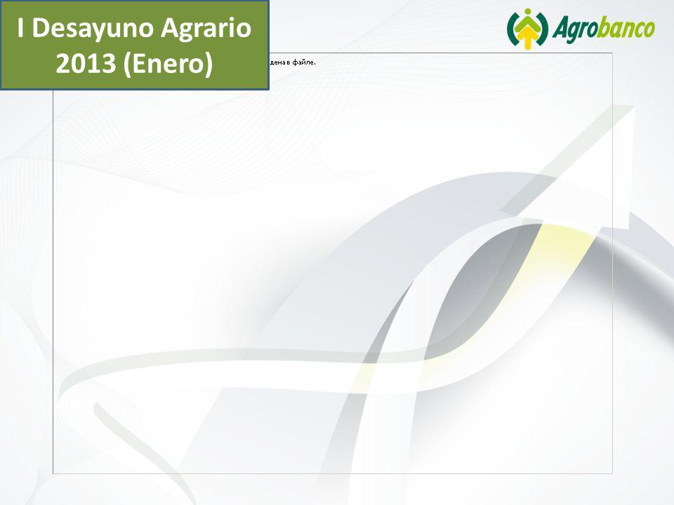 I Desayuno Agrario 2013 (Enero)