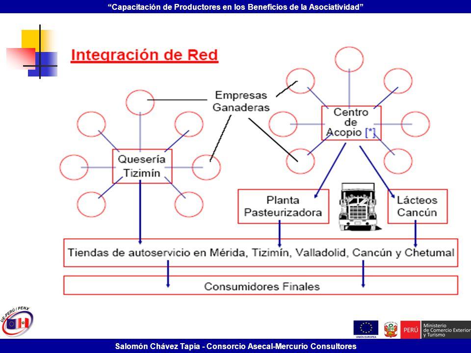 Capacitación de Productores en los Beneficios de la Asociatividad Salomón Chávez Tapia - Consorcio Asecal-Mercurio Consultores
