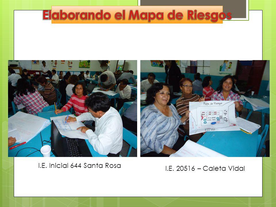 I.E. Inicial 644 Santa Rosa I.E. 20516 – Caleta Vidal