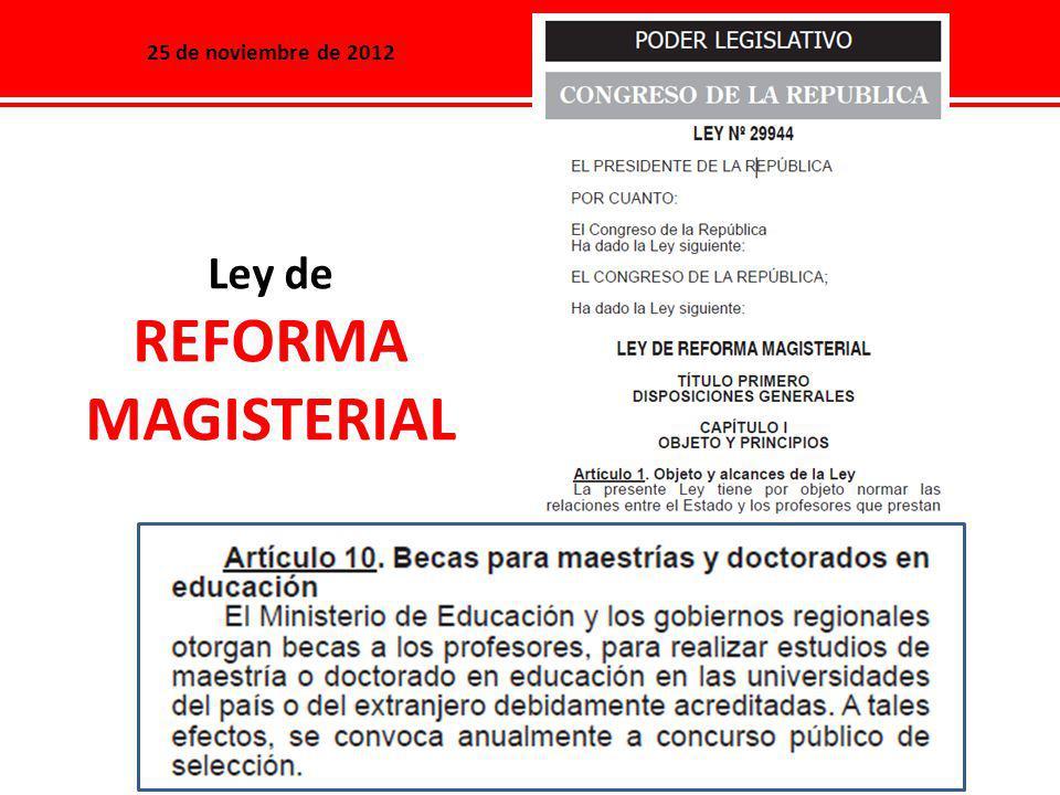 Universidades Elegibles (Lima) Maestría en Didáctica de la Enseñanza en Ciencias Naturales en educación primaria.