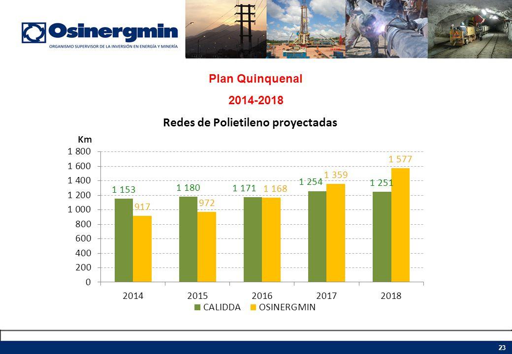 Plan Quinquenal 2014-2018 23