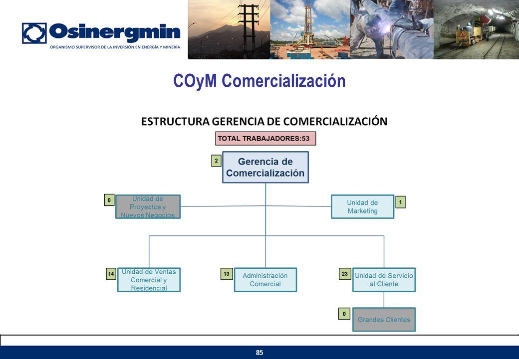 COyM Comercialización 85