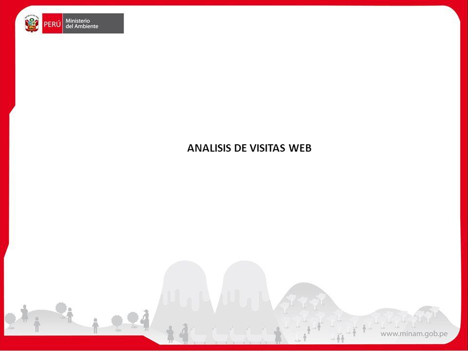 ANALISIS DE VISITAS WEB
