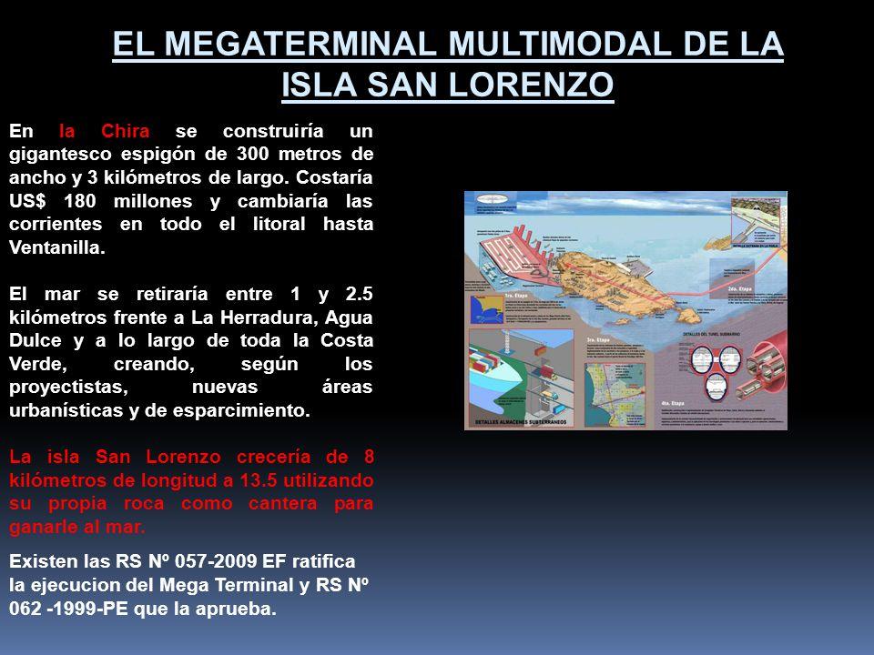 Esta dentro de la Cuenca del Pacifico a la cual las rutas interoceánicas acceden cruzando el canal de Panamá y el Estrecho de Magallanes. Sus instalac