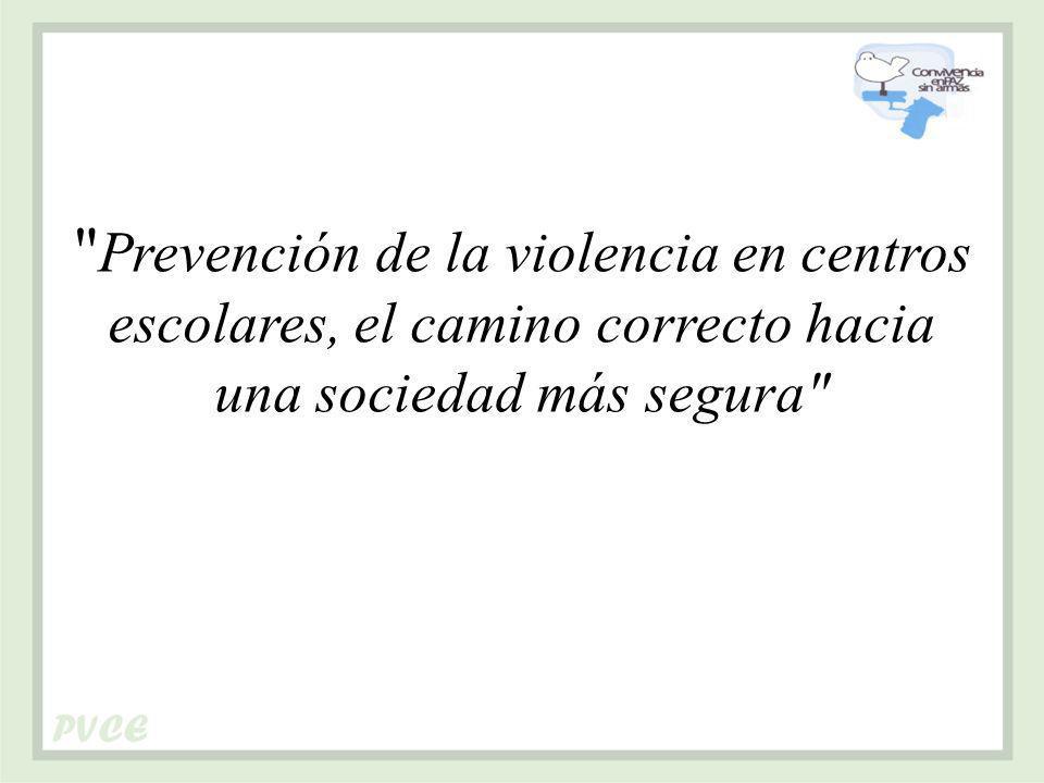 Prevención de la violencia en centros escolares, el camino correcto hacia una sociedad más segura