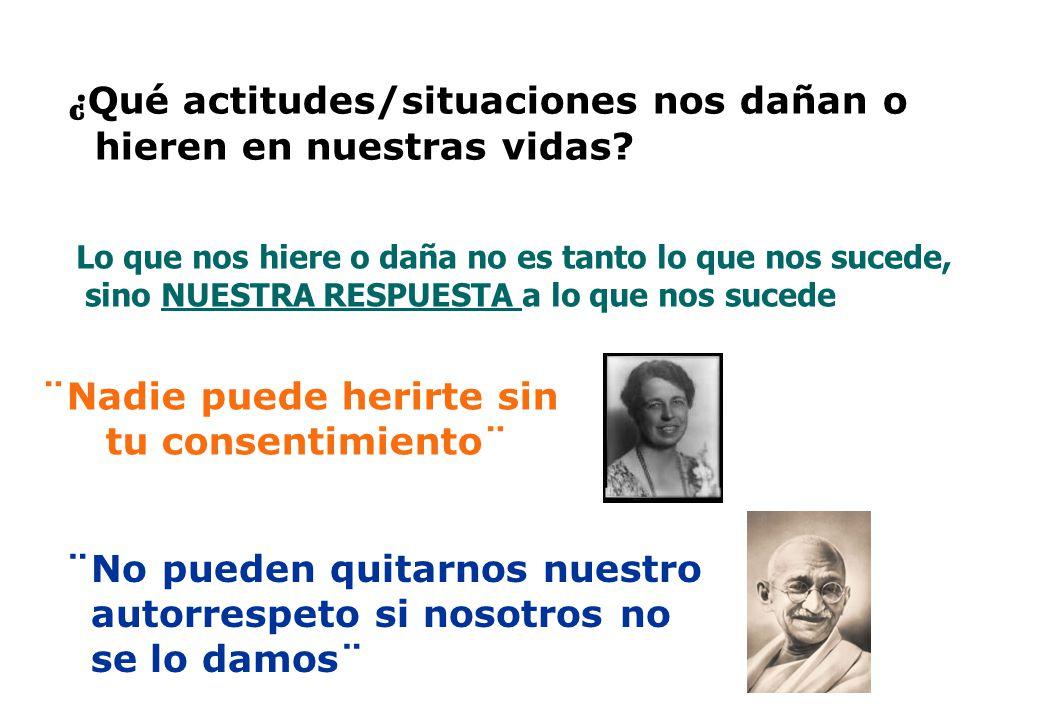 ALTO BAJO ALTA BAJA VALORPROPIOVALORPROPIO CONSIDERACIÓN HACIA EL OTRO GANAR/PERDERGANAR/GANAR PERDER/PERDER PERDER/GANAR Modelo de la Madurez