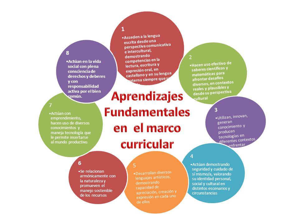 1 Acceden a la lengua escrita desde una perspectiva comunicativa e intercultural, demostrando competencias en la lectura, escritura y expresión oral,