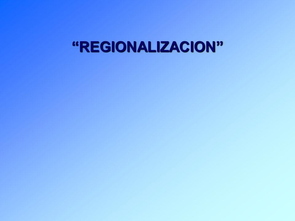 DEFINICIONES CONCEPTUALES REGIONALIZACION GOBIERNO FEDERAL GEOESTRATEGIA CENTRALIZACION NUCLEO DE DESARROLLO I GEOPOLITICA DESCONCENTRACIÓN AUTONOMIA DESCENTRALIZACIÓN