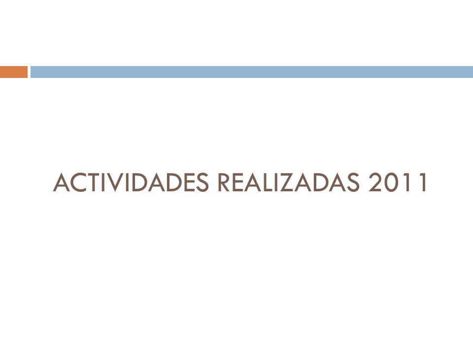 ACTIVIDADES REALIZADAS 2011