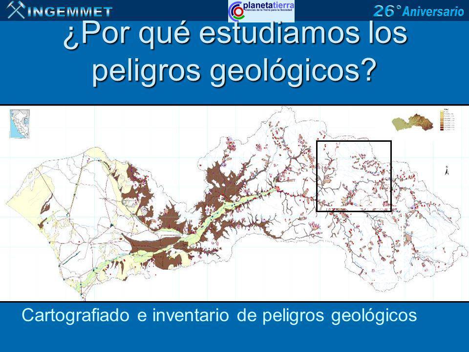 PELIGROS GEOLÓGICOS