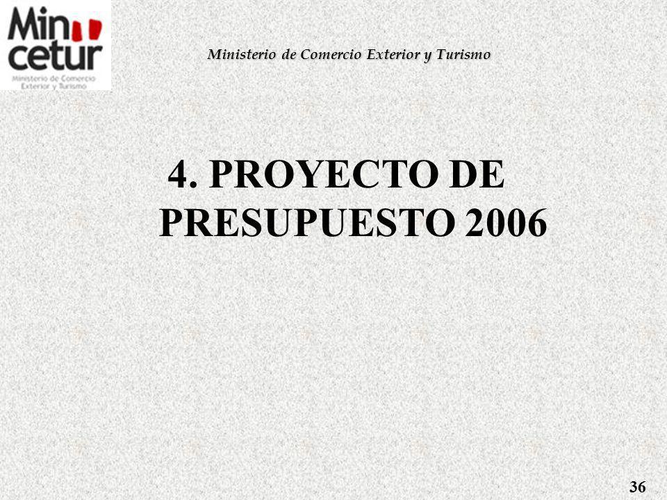 Promoción Turística - Promperú Turismo Interno: - Feria Turismo Perú 2006, - Ferias Regionales - Talleres de Marketing Turístico.