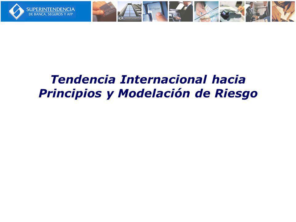 Tendencia Internacional hacia Principios y Modelación de Riesgo