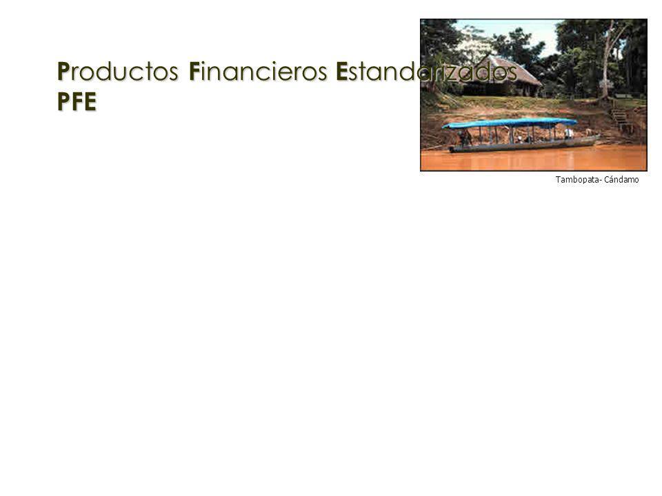 P roductos F inancieros E standarizados PFE Tambopata- Cándamo