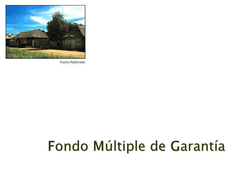 Fondo Múltiple de Garantía Puerto Maldonado