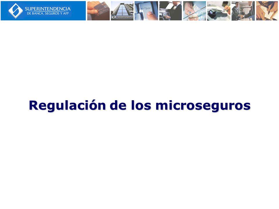 Regulación de los microseguros