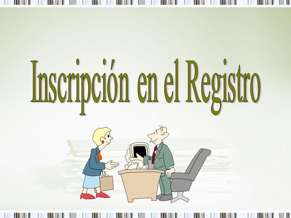 ¿Cómo inscribirse en el Registro.