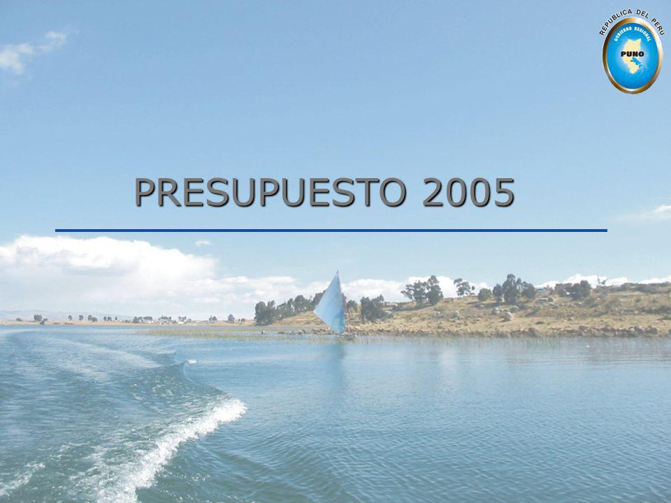 PRESUPUESTO 2005