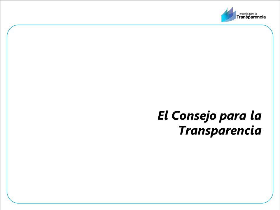 El Consejo para la Transparencia