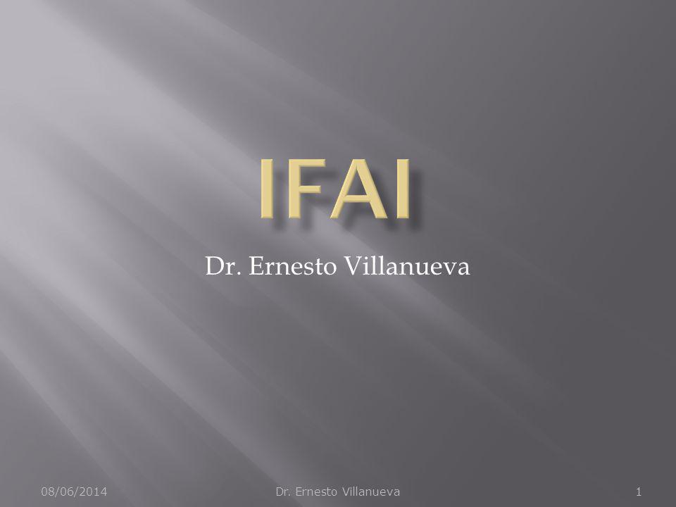 08/06/2014Dr. Ernesto Villanueva1