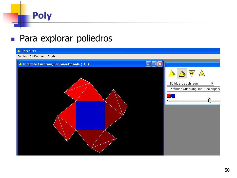 50 Poly Para explorar poliedros