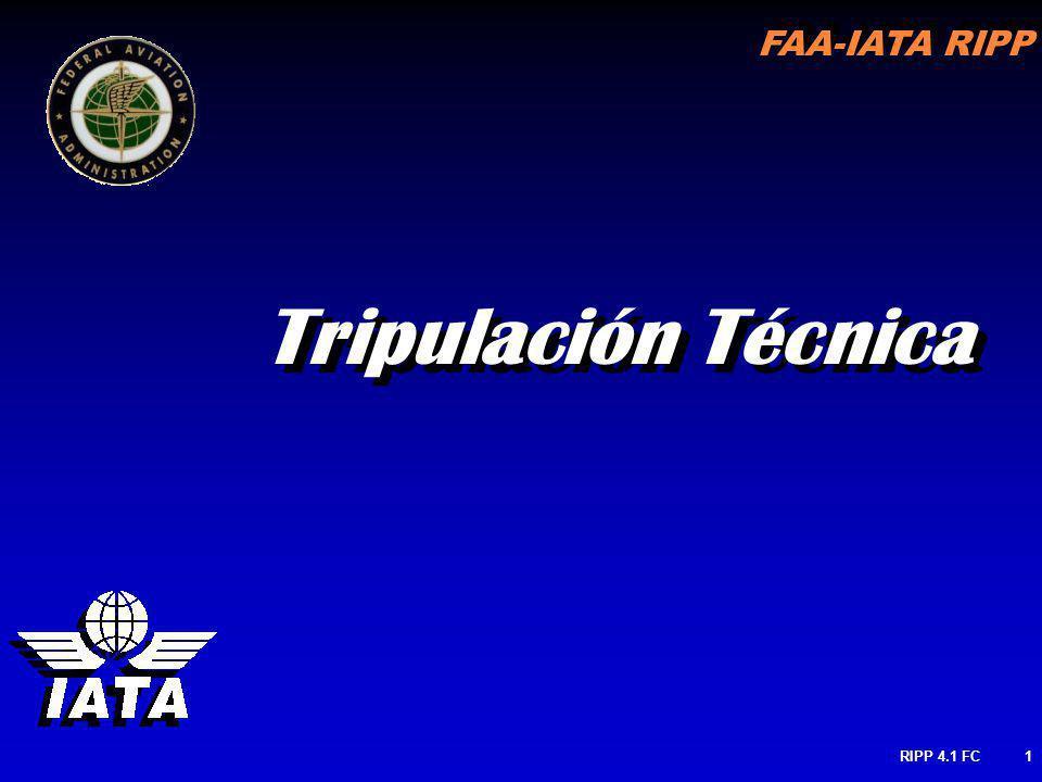 FAA-IATA RIPP RIPP 4.1 FC1 Tripulación Técnica
