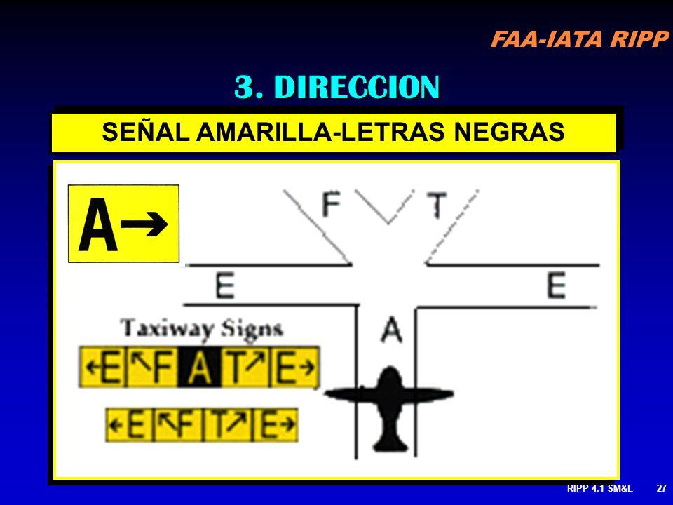 FAA-IATA RIPP RIPP 4.1 SM&L26 INSTRUCCIONES MANDATORIAS CO-UBICADAS CON UNA SEÑAL DE UBICACION INSTRUCCIONES MANDATORIAS CO-UBICADAS CON UNA SEÑAL DE