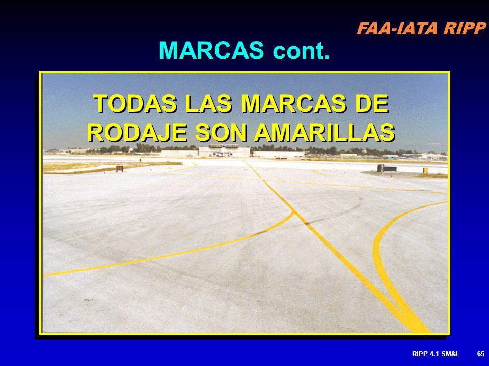 FAA-IATA RIPP RIPP 4.1 SM&L64 Area de No-Movimiento (lado de la rampa )(apron side) Area De Movimiento AUTORIZACION ATC REQUERIDA PARA OPERAR EN EL AR