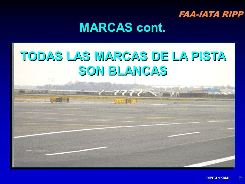 FAA-IATA RIPP RIPP 4.1 SM&L70 CAMINO DE VEHICULOS: Define LA RUTA que deberán seguir los vehículos cuando la misma área se esta usando en conjunto con