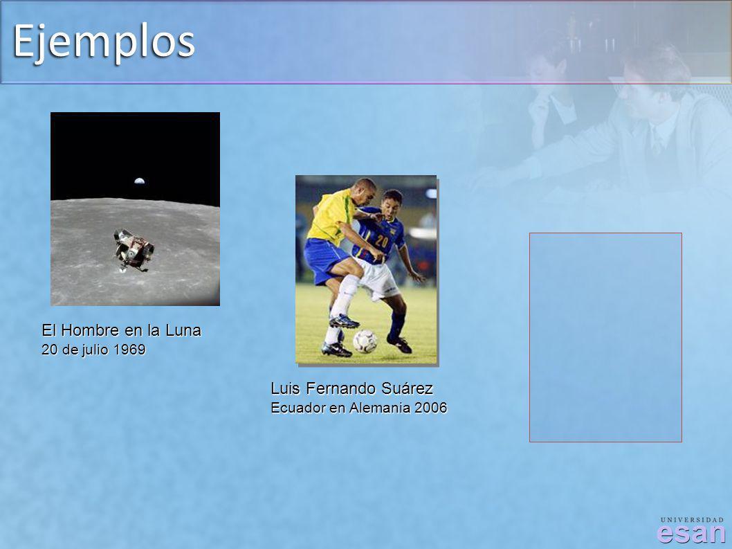 Ejemplos Luis Fernando Suárez Ecuador en Alemania 2006 El Hombre en la Luna 20 de julio 1969