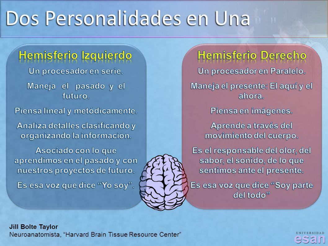 Dos Personalidades en Una Jill Bolte Taylor Neuroanatomista, Harvard Brain Tissue Resource Center