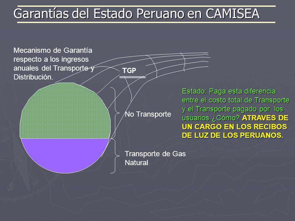 TGP Transporte de Gas Natural No Transporte Estado: Paga esta diferencia entre el costo total de Transporte y el Transporte pagado por los usuarios ¿C